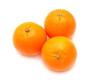 Three oranges Royalty Free Stock Photos
