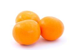 Three Oranges Stock Photography