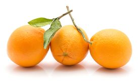 Orange, appelsin isolated stock images