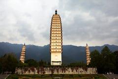 The Three-Pagoda's Royalty Free Stock Images