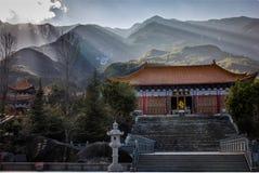 Three Pagoda Temple Royalty Free Stock Photo