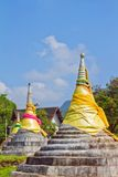 The Three Pagodas Royalty Free Stock Photo