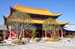 Temple in the Three Pagodas Stock Photos