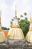 Three pagodas Royalty Free Stock Photography