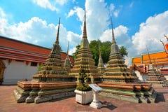 Three Pagodas Royalty Free Stock Photography