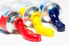 Three paints Stock Photography