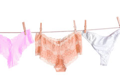 Three Pair of Panties Royalty Free Stock Photography