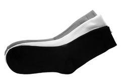 Three pair of socks Stock Photos