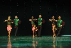 Three pairs of combinations-India memories-the Austria's world Dance Stock Image