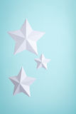 Three Paper Stars Stock Photos