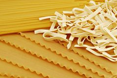 Three pastas Royalty Free Stock Photo