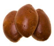 Three patties Stock Image