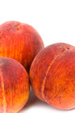 Three peaches Royalty Free Stock Photo
