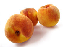 Three Peaches Stock Image