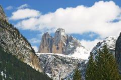 Three Peaks Royalty Free Stock Images