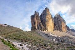Three peaks Royalty Free Stock Photo