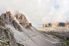 Three peaks Stock Image