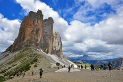 Three Peaks, Italy Royalty Free Stock Images