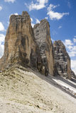 Three peaks of Lavaredo Royalty Free Stock Image