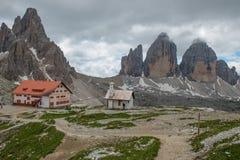 Three Peaks of Lavaredo Stock Image