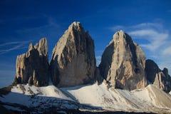 Three peaks Stock Photo
