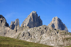 Three Peaks Stock Image