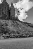 Three peaks Lavaredo Royalty Free Stock Photo