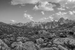 Three peaks Lavaredo Stock Photo