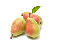 Three pears Stock Photography