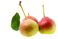 Free Three Pears Stock Photography - 22661932