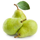 Three pears Royalty Free Stock Photography