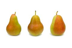 Free Three Pears Royalty Free Stock Images - 2555599