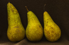Three pears Royalty Free Stock Photo