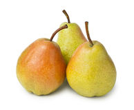 Three pears Stock Image