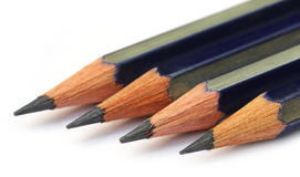 Three pencils Stock Images