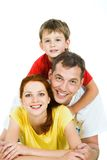 Three people Royalty Free Stock Photography