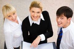 Three people Stock Photography