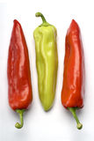 Three Peppers Stock Photos
