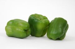 Three Peppers Royalty Free Stock Photography