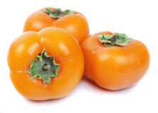 Three persimmon Stock Images