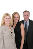 Three Person Business Team 1 Royalty Free Stock Photography