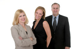 Three Person Business Team 2 Stock Image