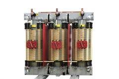 Three phase power transformer Royalty Free Stock Image