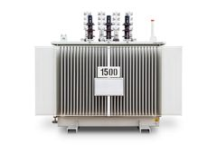 Three phase transformer Royalty Free Stock Photos