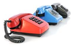 Three phones Royalty Free Stock Photo