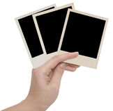 Three photo frames Royalty Free Stock Photos