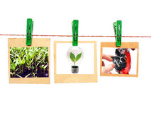 Three photo of innovation Royalty Free Stock Image