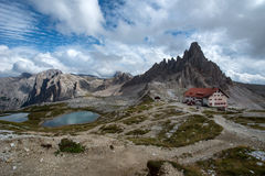 Three Picks of Lavaredo Stock Images
