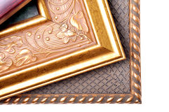 Three picture frames Stock Photography