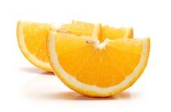 Orange. Three   piece of orange Stock Photography
